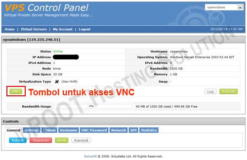 VPS Windows VNC