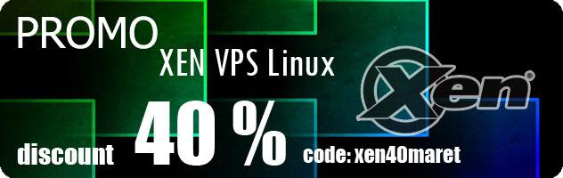 Promo XEN VPS Linux